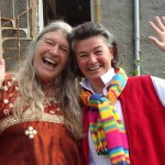 Manda and Sue Miles leading week in Findhorn [may 21st]2]